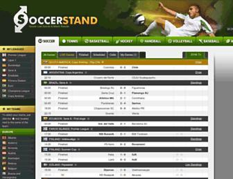 soccerstand.com screenshot
