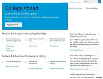 Thumbshot of Collegeanswer.com
