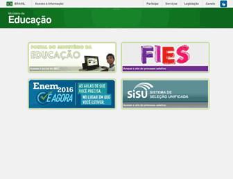 Thumbshot of Mec.gov.br