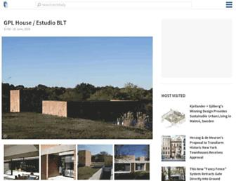 archdaily.com screenshot