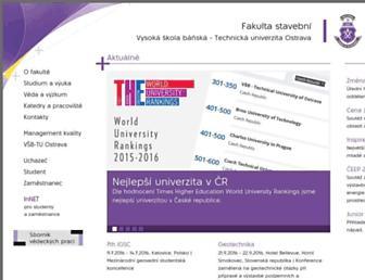 fast10.vsb.cz screenshot