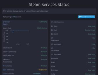 Thumbshot of Steamstat.us