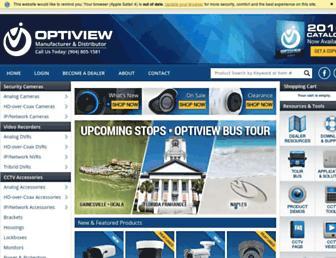 optiviewusa.com screenshot