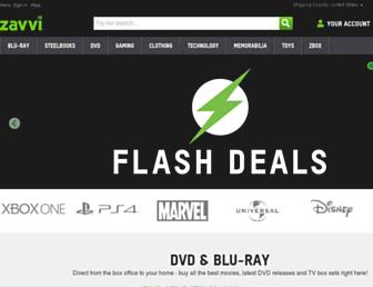 Thumbshot of Zavvi.com