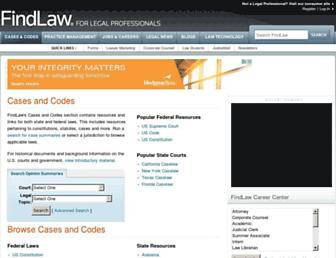 caselaw.findlaw.com screenshot