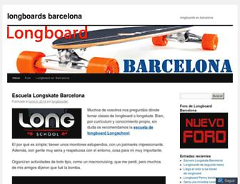 longboardbarcelona.com screenshot