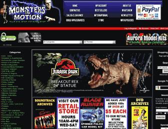 monstersinmotion.com screenshot