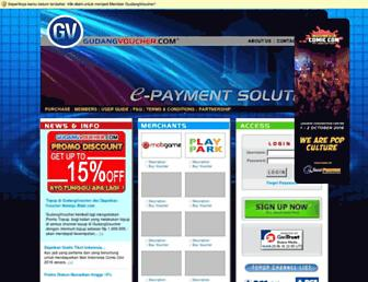 gudangvoucher.com screenshot