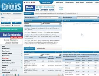 cbonds.com screenshot