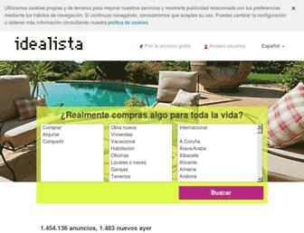 idealista.com screenshot