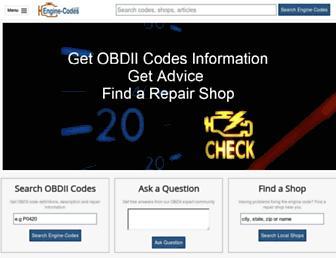 engine-codes.com screenshot