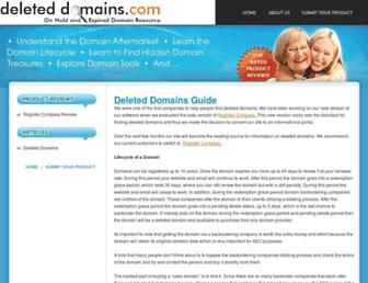 Thumbshot of Deleteddomains.com