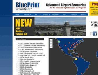 blueprintsimulations.com screenshot