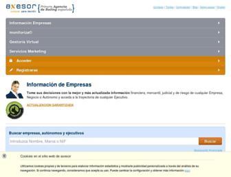 axesor.es screenshot