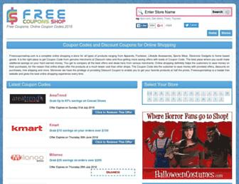 Thumbshot of Freecouponsshop.com