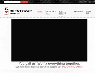 Thumbshot of Brentozar.com