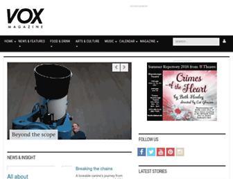voxmagazine.com screenshot