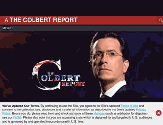 Thumbshot of Colbertnation.com