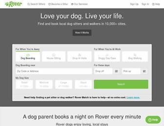 Thumbshot of Rover.com