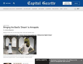 capitalgazette.com screenshot