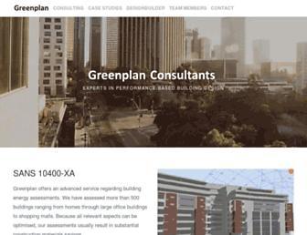 greenplan.co.za screenshot