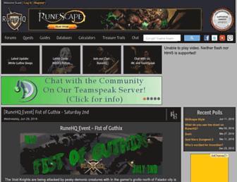 runehq.com screenshot