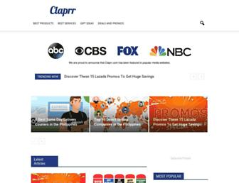 claprr.com screenshot