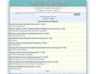 morewap.com screenshot