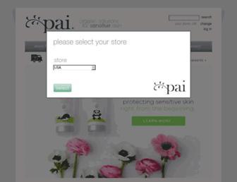 Thumbshot of Paiskincare.com