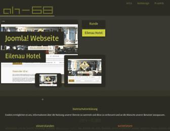 Main page screenshot of ah-68.de