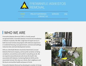 fremantleasbestos.com.au screenshot