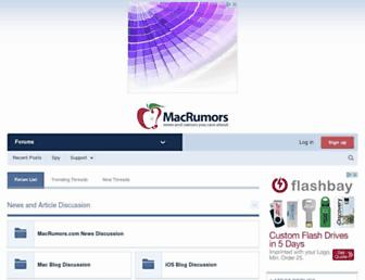 forums.macrumors.com screenshot