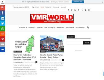 vmrworld.com screenshot