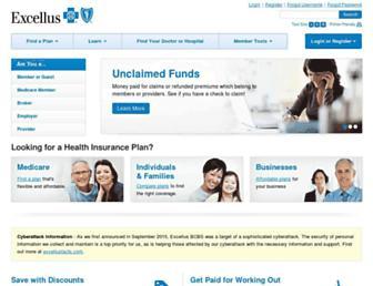 excellusbcbs.com screenshot