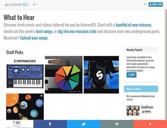 Thumbshot of Internetdj.com