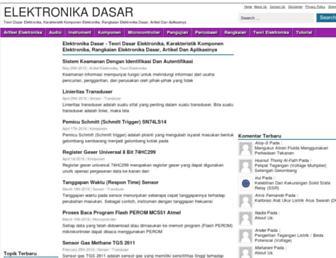 elektronika-dasar.web.id screenshot
