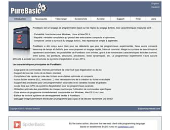 purebasic.fr screenshot