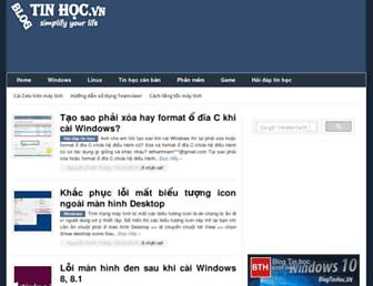 blogtinhoc.vn screenshot