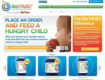 Thumbshot of Biotrust.com