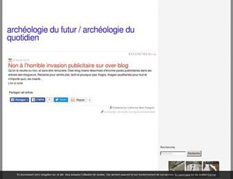 archeologue.over-blog.com screenshot