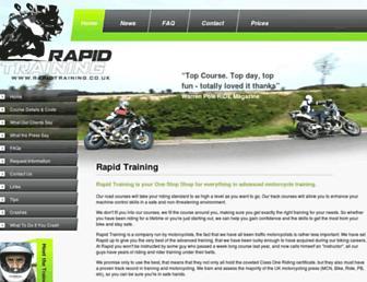 rapidtraining.co.uk screenshot