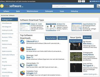 winsoftware.de screenshot