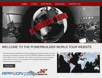 powerbuilder-world-tour.com screenshot