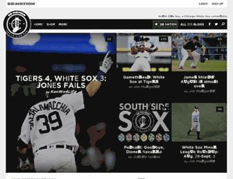 southsidesox.com screenshot