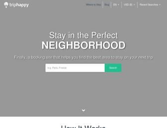 triphappy.com screenshot