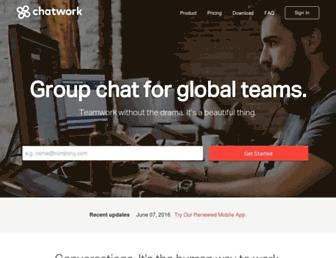 Thumbshot of Chatwork.com