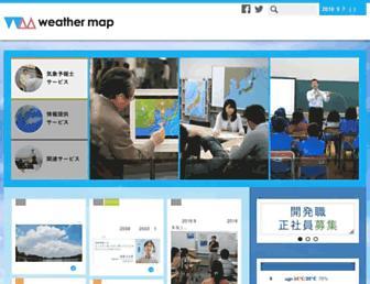 Thumbshot of Weathermap.co.jp