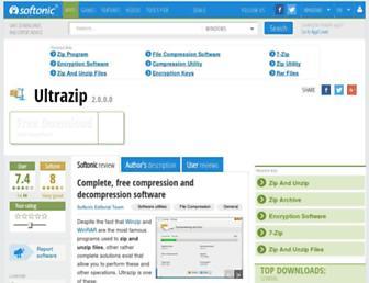 ultrazip.en.softonic.com screenshot