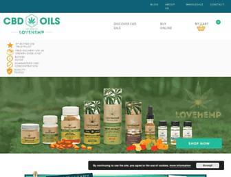 cbdoilsuk.com screenshot