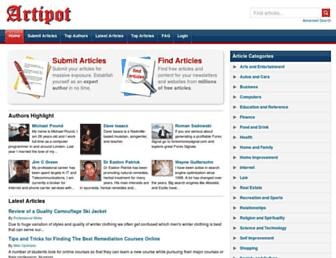 Thumbshot of Artipot.com